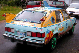 David Stephens Art Car
