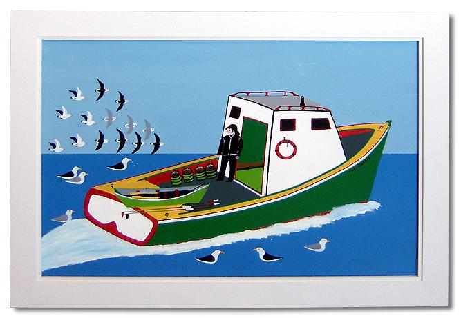 Folk Art Paintings Nova Scotia
