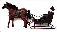 Jacob Roth Horse and Sleigh