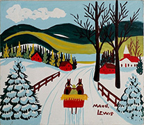 Maud Lewis Country Road